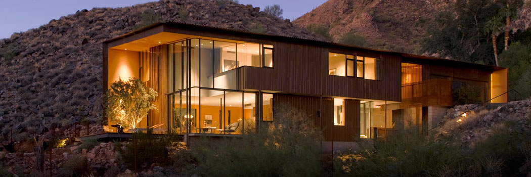 Architecture in phoenix scottsdale for Modern home builders phoenix
