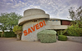 The David & Gladys Wright House has been saved!