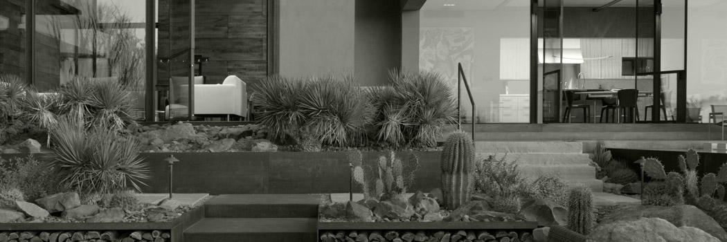 Modern Desert Luxury – Rammed Earth Construction