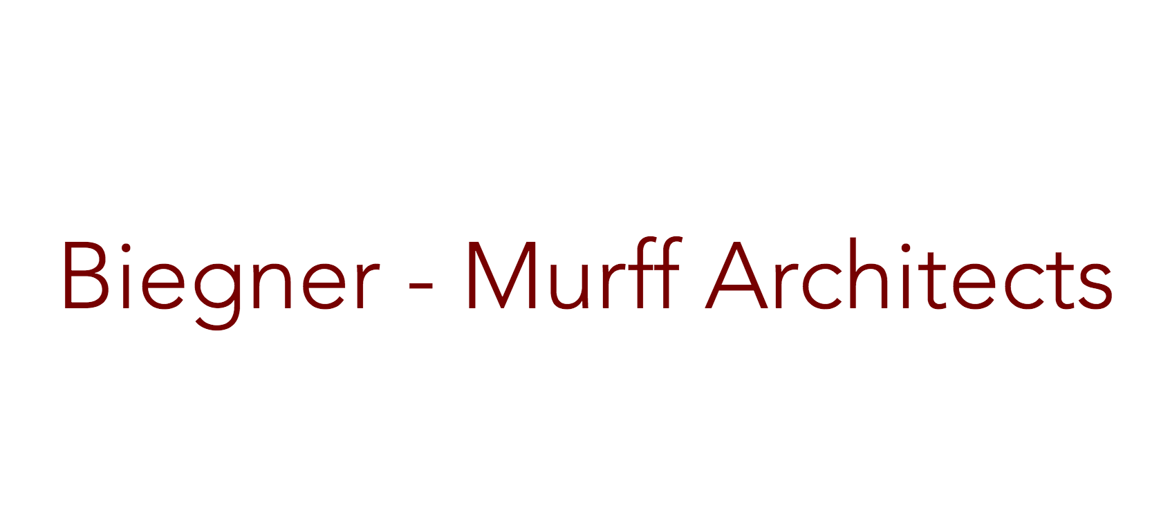 Biegner-Murff Architects