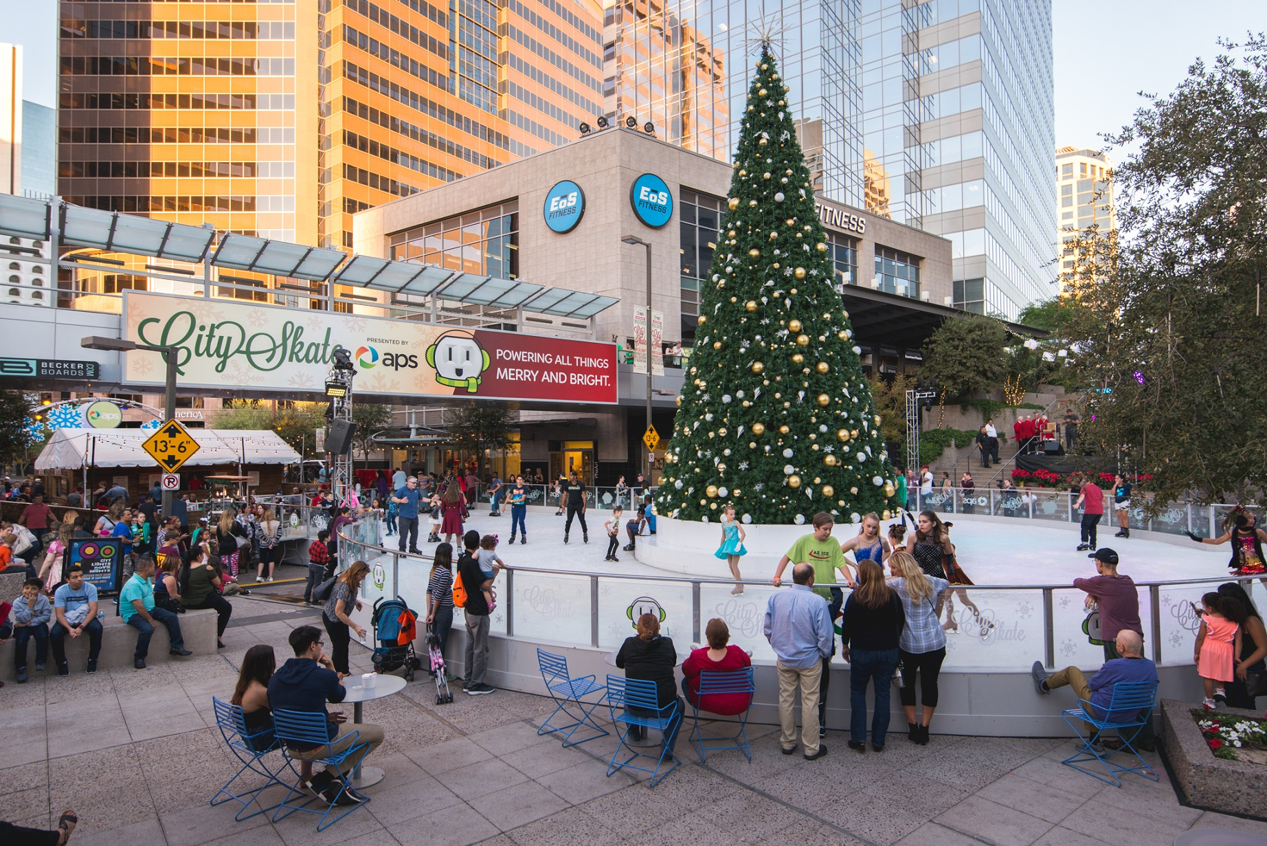 CitySkate Holiday Ice Rink