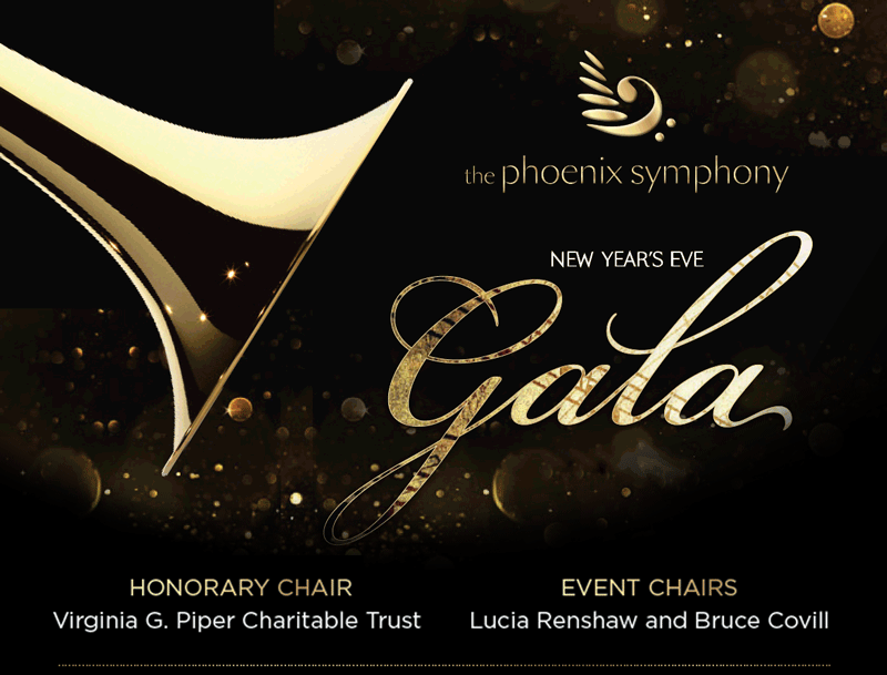 The Phoenix Symphony New Year's Eve Gala at the Arizona Biltmore