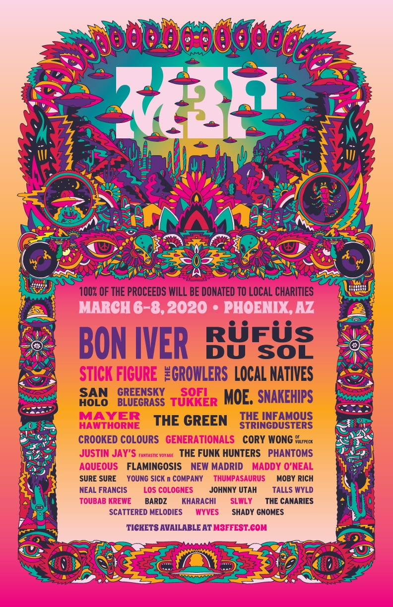 McDowell Mountain Music Festival (M3F) 2020