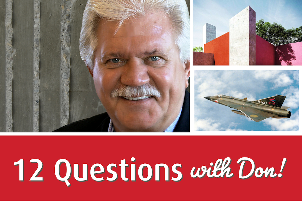 12 Questions with Don Hammer!